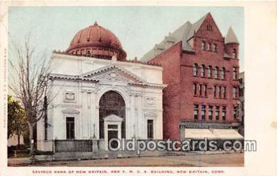 bnk001134 - Savings Bank of New Britain New Britain, Connecticut, USA Postcard Post Card