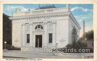 bnk001138 - Bristol Trust Company Bristol, Connecticut, USA Postcard Post Card