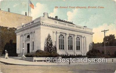 bnk001139 - Bristol Trust Company Bristol, Connecticut, USA Postcard Post Card