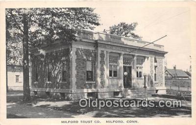 bnk001140 - Milford Trust Co Milford, Connecticut, USA Postcard Post Card