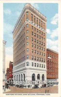 bnk001146 - Hartford National Bank Building Hartford, Connecticut, USA Postcard Post Card