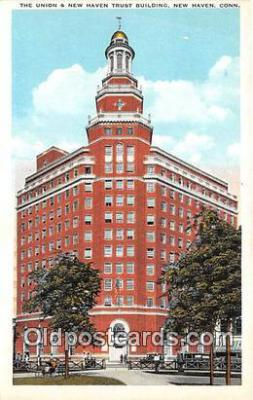 bnk001147 - The Union & New Haven Trust Building New Haven, Connecticut, USA Postcard Post Card