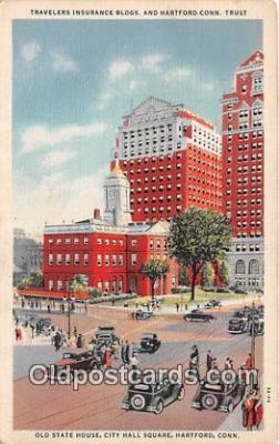bnk001149 - Hartford Connecticut Trust Co Hartford, Connecticut, USA Postcard Post Card