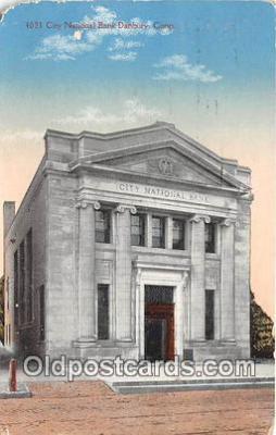 bnk001154 - City National Bank Danbury, Connecticut, USA Postcard Post Card
