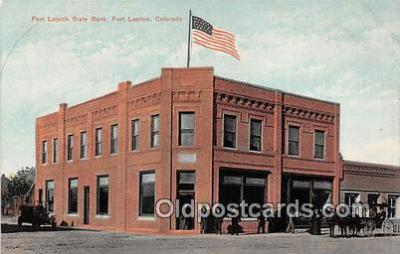 bnk001162 - Fort Lupton State Bank Fort Lupton, Colorado, USA Postcard Post Card