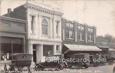 bnk001166 - Real Photo - Farmers & Merchants Bank Manly, Iowa, USA Postcard Post Card