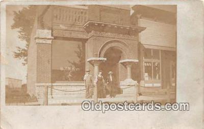 bnk001175 - Real Photo  Castalia, Iowa Postcard Post Card