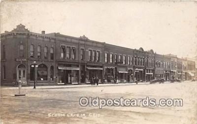 bnk001184 - Real Photo  Storm Lake, Iowa, USA Postcard Post Card