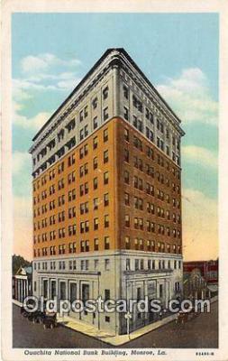 bnk001207 - Ouachita National Bank Building Monroe, LA, USA Postcard Post Card