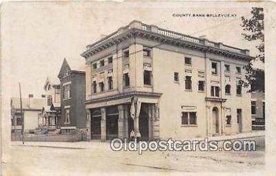 bnk001230 - County Bank Bellevue, Kentucky, USA Postcard Post Card