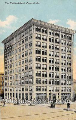 bnk001240 - City National Bank Paducah, Kentucky, USA Postcard Post Card