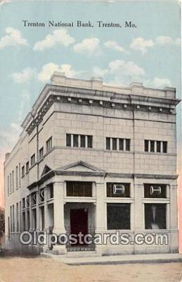 bnk001303 - Trenton National Bank Trenton, MO, USA Postcard Post Card