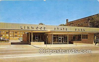 bnk001307 - Linwood State Bank Kansas City, MO, USA Postcard Post Card