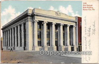 bnk001310 - First National Bank Building Kansas City, MO, USA Postcard Post Card