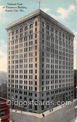 bnk001318 - National Bank of Commerce Building Kansas City, MO, USA Postcard Post Card