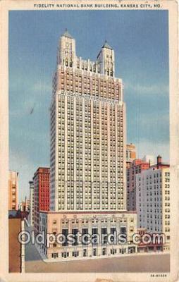 bnk001320 - Fidelity National Bank Building Kansas City, MO, USA Postcard Post Card