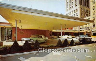 bnk001360 - Bank of the Commonwealth Auto Bank Detroit, USA Postcard Post Card