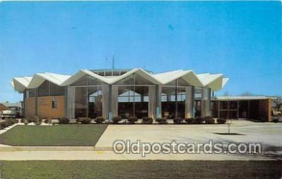 bnk001361 - Bank of the Commonwealth Garden City Office Garden City, Nankin, USA Postcard Post Card