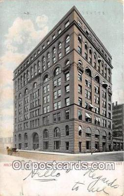 bnk001375 - Michigan Trust Building Grand Rapids, Mich, USA Postcard Post Card