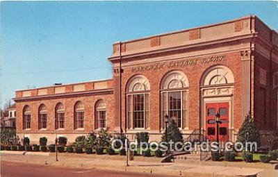 bnk001395 - Wareham Savings Bank Wareham, Mass, USA Postcard Post Card