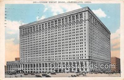 bnk001401 - Union Trust Building Cleveland, Ohio, USA Postcard Post Card