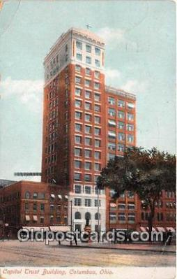bnk001424 - Capitol Trust Building Columbus, Ohio, USA Postcard Post Card