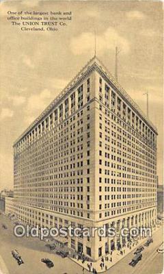 bnk001426 - Union Trust Co Cleveland, Ohio, USA Postcard Post Card