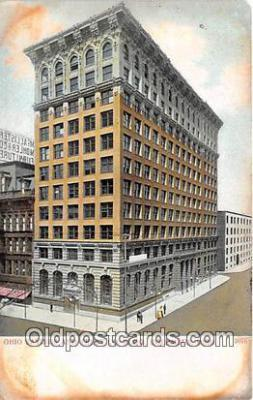 bnk001443 - Ohio Savings & Trust Co Building Columbus, Ohio, USA Postcard Post Card