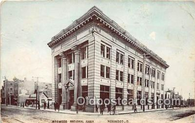 bnk001448 - Norwood National Bank Norwood, Ohio, USA Postcard Post Card