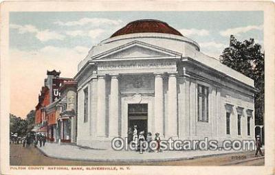 bnk001470 - Fulton County National Bank Gloversville, NY, USA Postcard Post Card