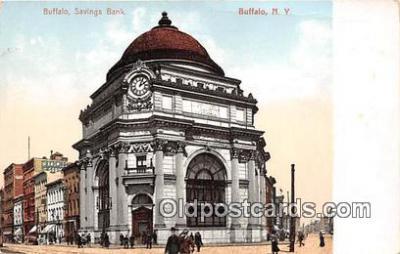 bnk001474 - Buffalo, Savings Bank Buffalo, NY, USA Postcard Post Card