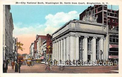 bnk001477 - City National Bank Binghamton, NY, USA Postcard Post Card