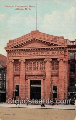 bnk001482 - National Commercial Bank Albany, NY, USA Postcard Post Card