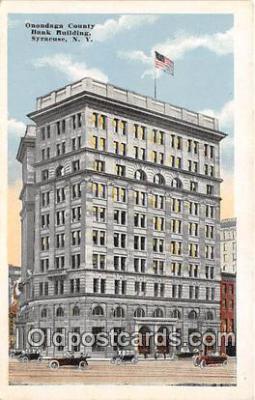 bnk001486 - Onondaga County Savings Bank Building Syracuse, NY, USA Postcard Post Card