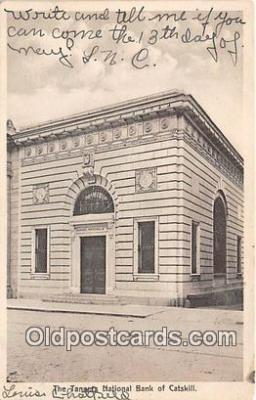 bnk001493 - Tanners National Bank Catskill, USA Postcard Post Card
