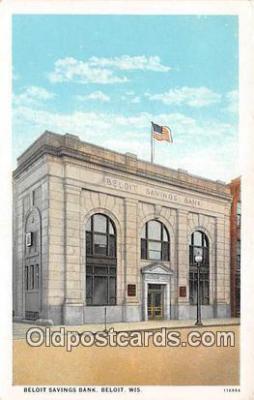 bnk001532 - Beloit Savings Bank Beloit, Wis, USA Postcard Post Card