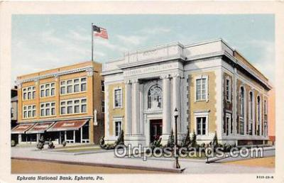 bnk001548 - Ephrata National Bank Ephrata, PA, USA Postcard Post Card