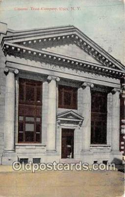 bnk001562 - Citizens Trust Company Utica, NY, USA Postcard Post Card