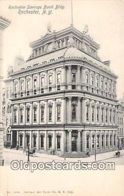 bnk001580 - Rochester Savings Bank Building Rochester, NY, USA Postcard Post Card