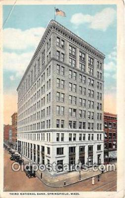 bnk001589 - Third National Bank Springfield, Massachusetts, USA Postcard Post Card