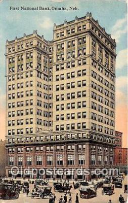 bnk001616 - First National Bank Omaha, Neb, USA Postcard Post Card