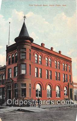 bnk001621 - First National Bank North Platte, Neb, USA Postcard Post Card