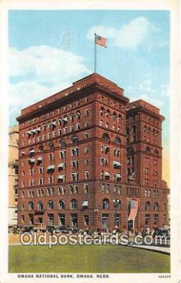 bnk001623 - Omaha National Bank Omaha, Neb, USA Postcard Post Card
