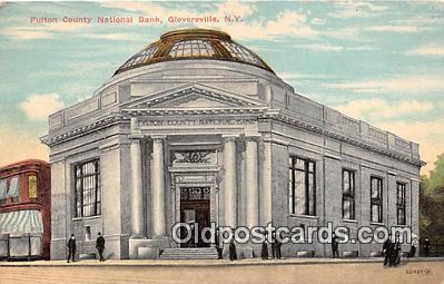 bnk001631 - Fulton County National Bank Gloversville, NY, USA Postcard Post Card