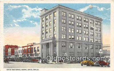 bnk001651 - Enid National Bank Enid, Oklahoma, USA Postcard Post Card