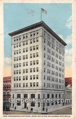 bnk001659 - New Tradesmens National Bank Building Oklahoma City, Oklahoma, USA Postcard Post Card