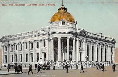 bnk001698 - Hibernia Bank Building San Francisco, CA, USA Postcard Post Card