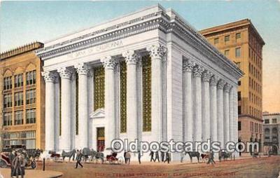 bnk001700 - The Bank of California San Francisco, CA, USA Postcard Post Card