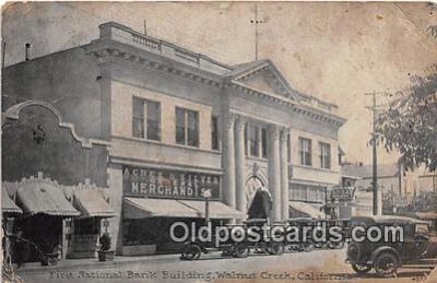 bnk001709 - First National Bank Building Walnut Creek, California, USA Postcard Post Card