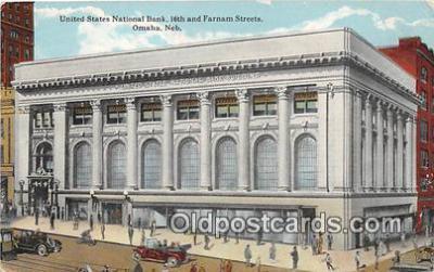 bnk001734 - United States National Bank Omaha, Neb, USA Postcard Post Card